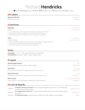 latex resume generator product hunt - Latex Resume