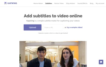 Video Subtitle Maker - Add captions directly to your videos