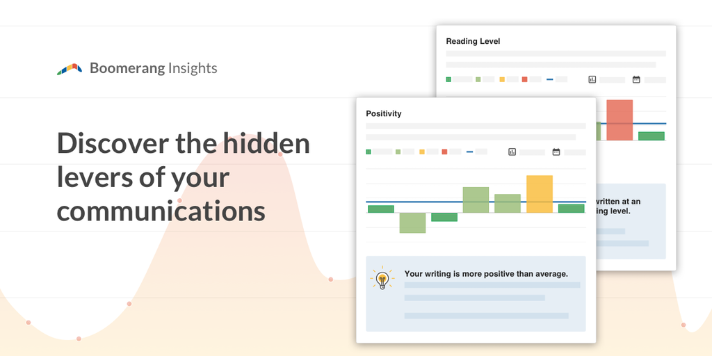 Boomerang Insights - Insights into how you email combined with actionable advice | Product Hunt