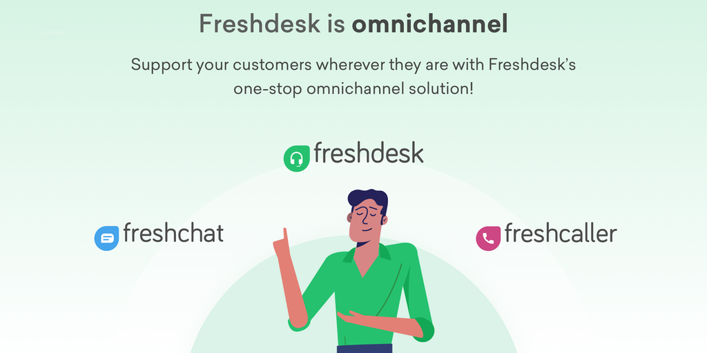 Freshdesk Omnichannel Support - The ultimate omnichannel helpdesk for your customer support | Product Hunt