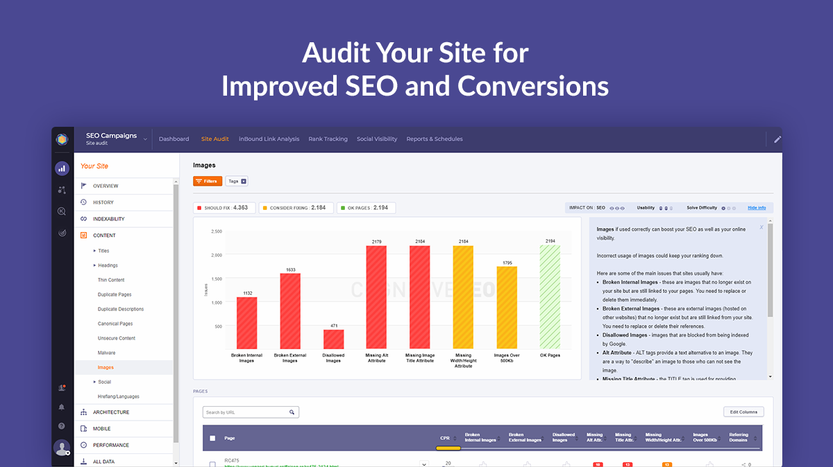 Site Audit by cognitiveSEO - Audit your site for improved SEO and conversions!