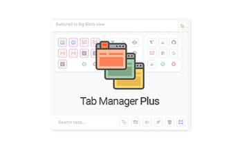 Tab Manager Plus for Chrome - The only tab manager you'll ever need