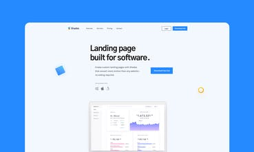 Shade - Free landing page templates for startups | Product Hunt