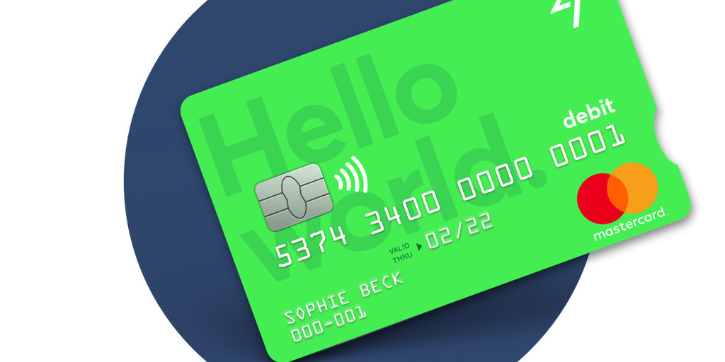 TransferWise Debit Card - A bright green card to save you money when ...