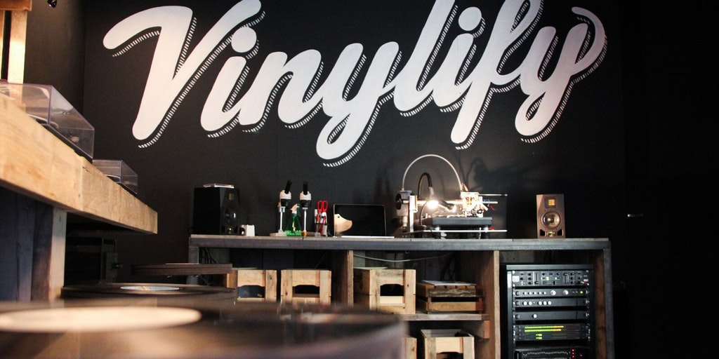 Vinylify Create Your Own Personalized Vinyl Record