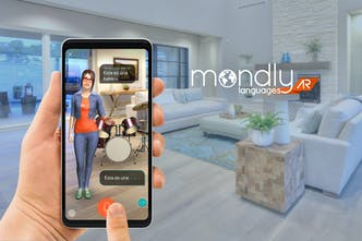 MondlyAR - Learn languages in augmented reality | Product Hunt
