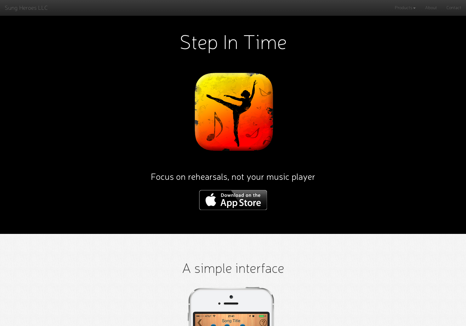 Step in Time - A music player app for rehearsals   Product Hunt