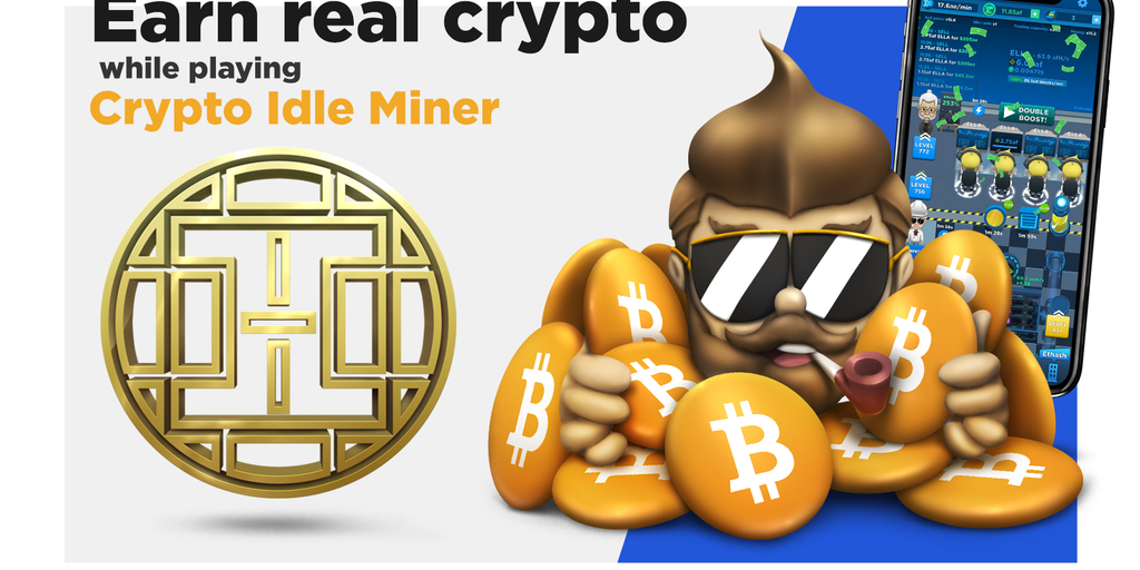 Crypto Idle Miner: Bitcoin Tycoon - Mobile game that rewards you with real crypto – Hora Tokens! | Product Hunt