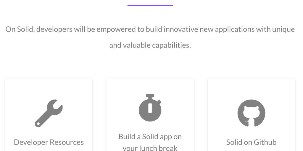 Solid - A decentralized web by Tim Berners Lee, creator of the WWW | Product Hunt