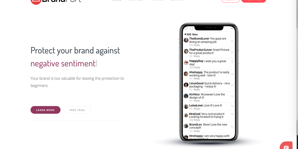 BrandFort - Protect your social media brand using AI | Product Hunt