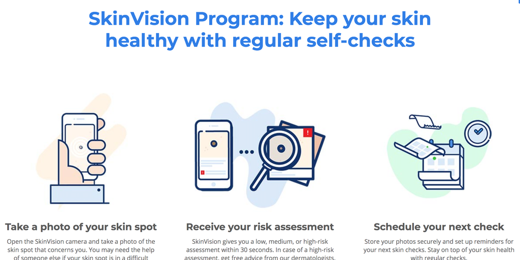 SkinVision - App to detect skin cancer - with 70%+ accuracy
