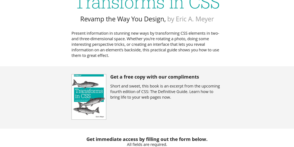 Transforms in CSS - Free eBook for learning to code