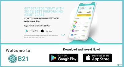 create a cryptocurrency investment site