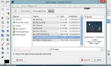 GIMP Online - Powerful graphics editor in the cloud