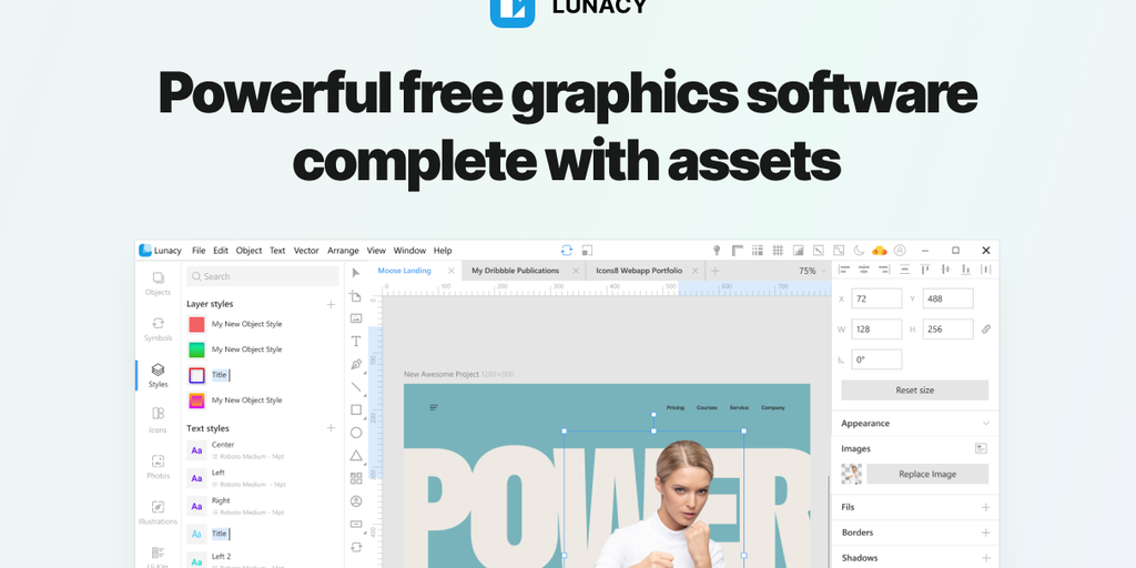 Lunacy 6 - Powerful free graphics software complete with assets | Product Hunt