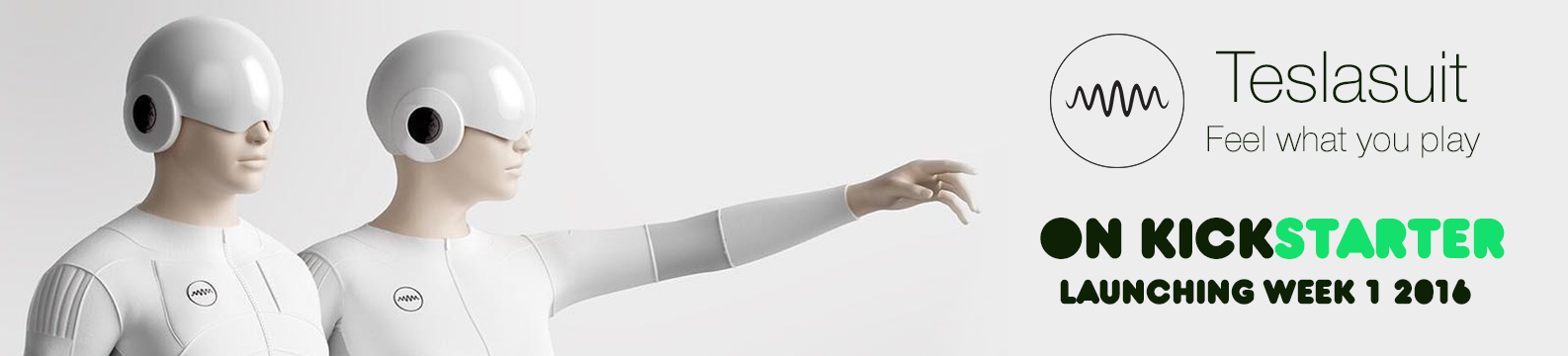 Teslasuit - The worlds 1st full body haptics suit that lets you feel VR
