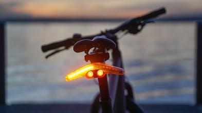 Bike brake and blinker light