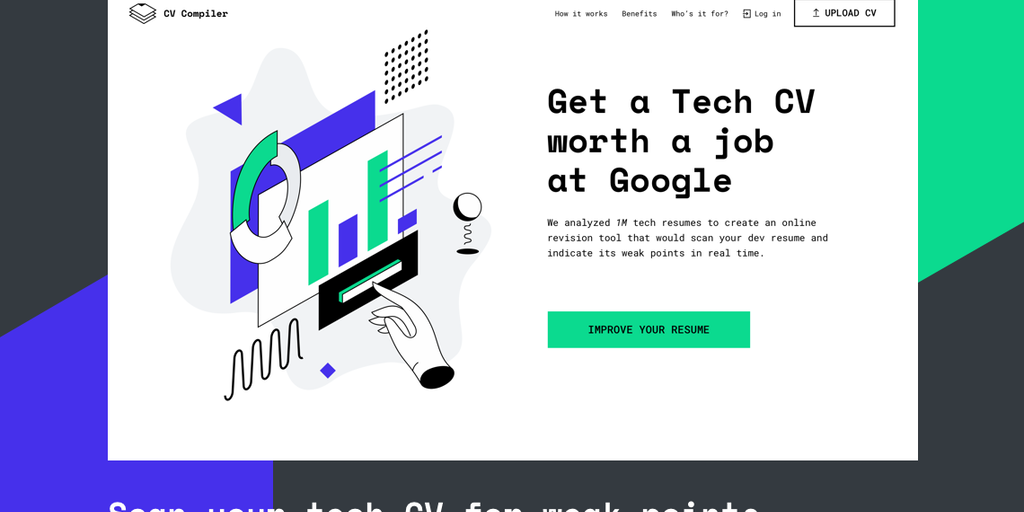 cv compiler better tech resume within minutes product hunt