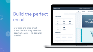 HubSpot Free Email Marketing - Powerful drag and drop email