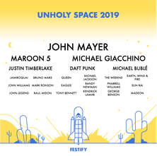 Festify - A visual lineup of your most listened to Spotify