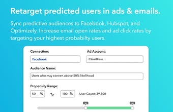 ClearBrain - Predict which users will upgrade or churn