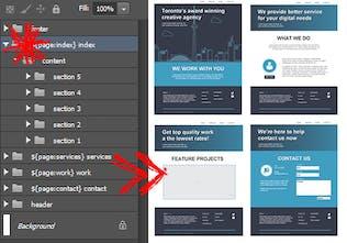 Export Kit - Convert your PSD into responsive HTML, CSS
