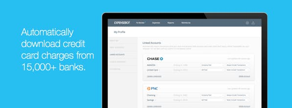 ExpenseBot - An app that does your expense reports for you