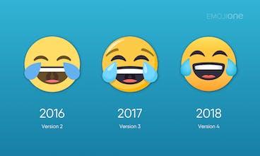 EmojiOne 4 0 - Complete redesign of 2,827 emoji for 2018