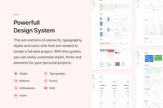Blöcke Web UI Kit - 380+ components based on design system
