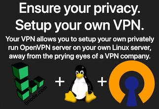 Your VPN - Setup a VPN on a private Linux server in minutes