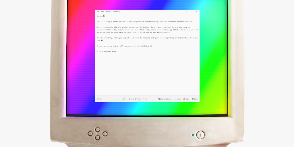 ruff 2.0 - Ruff is your writing's best friend at home and on the go | Product Hunt