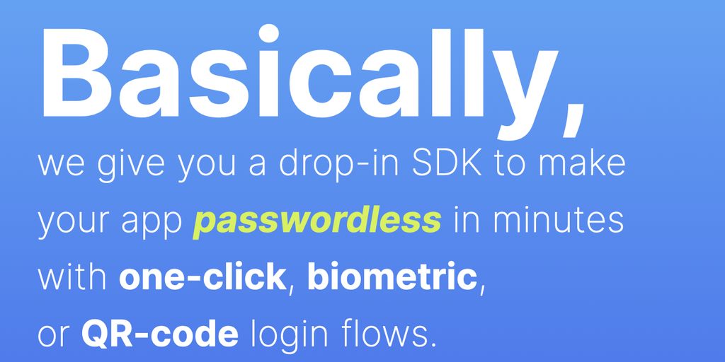 idemeum - Passwordless login with one-click, biometric, or QR-code | Product Hunt