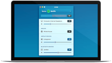 Airfoil 5 - Stream any audio from your Mac all around your