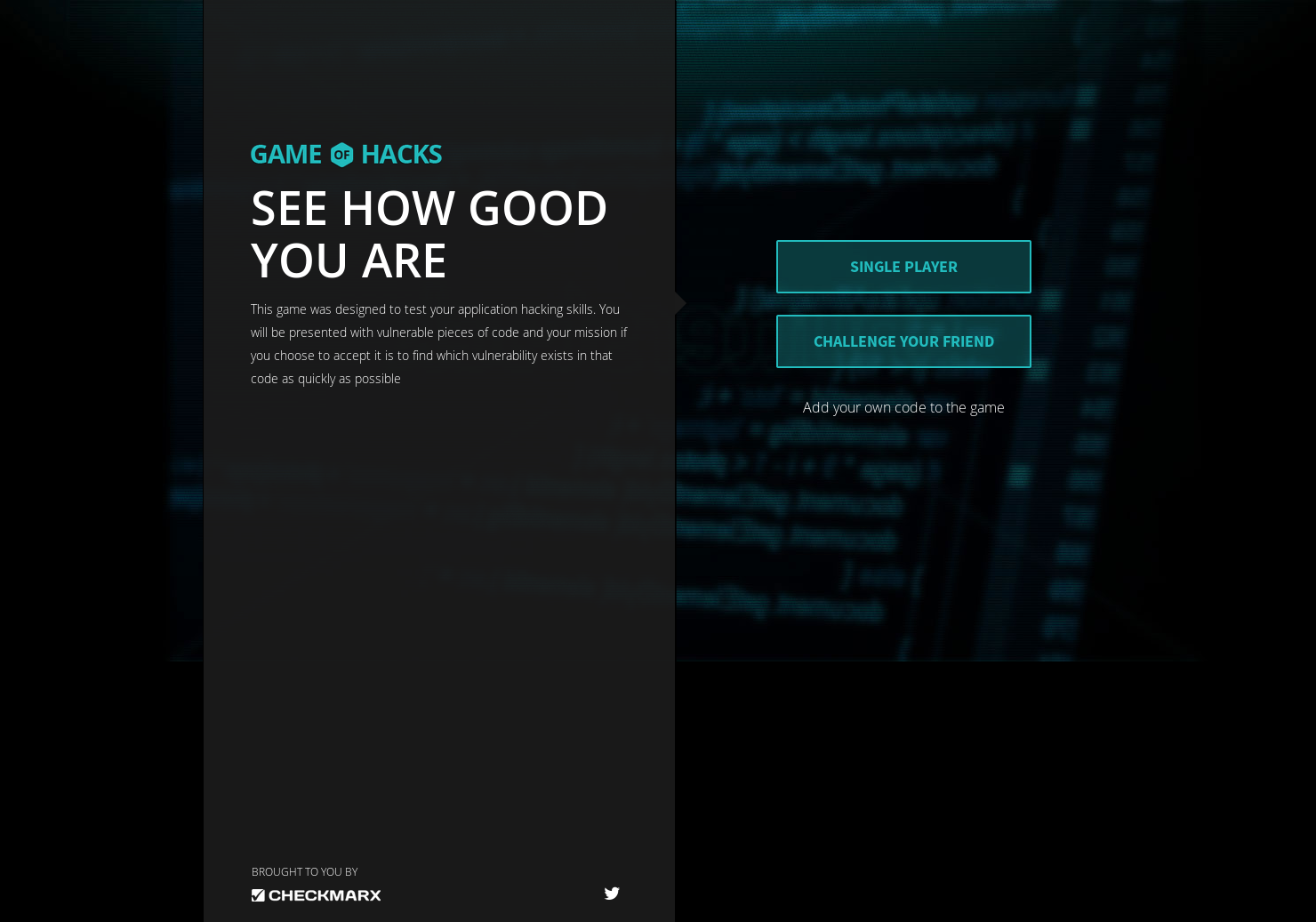 Game of Hacks - Test your application hacking skills   Product Hunt