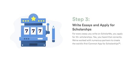 scholarme   apply to  scholarships with one essay  product hunt with scholarme students can apply for tonnes of scholarships that all ask  the same questions