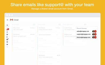 Drag Team - The simplest way to share emails as a team | Product Hunt