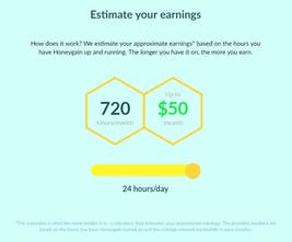 Honeygain - Make money from home by simply sharing your unused net