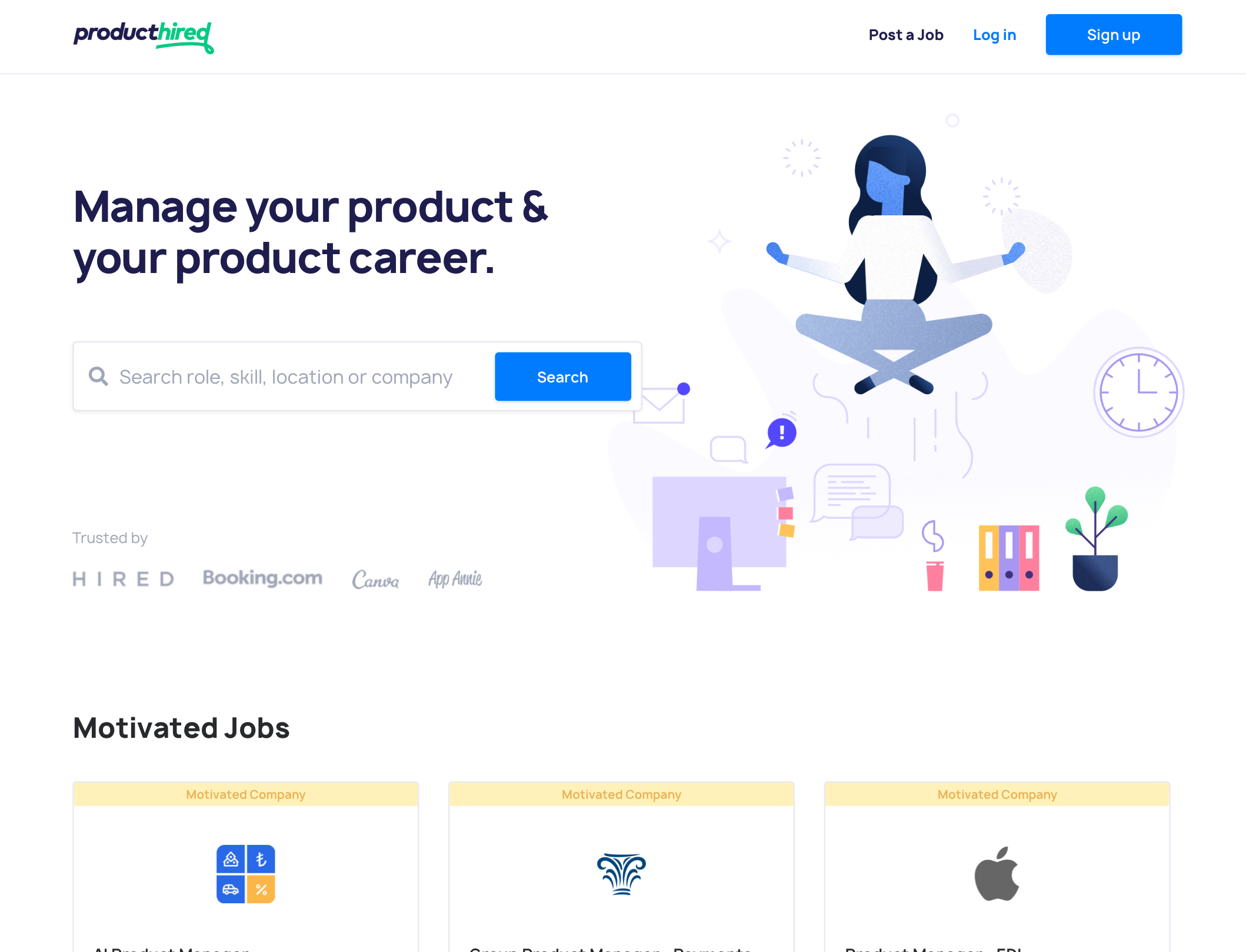 ProductHired 2.0 is launching soon! Sign-up to be notified when we launch! | Product Hunt