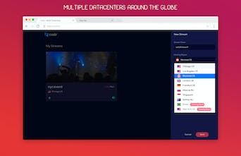Castr - Livestream video to Twitch, YouTube, Facebook and