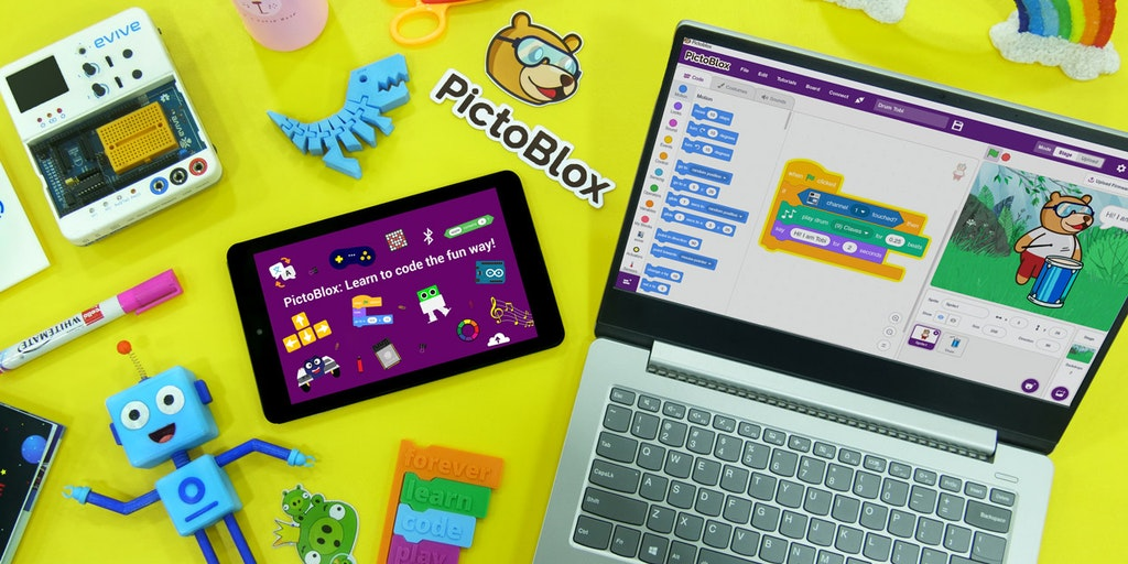 PictoBlox - Coding for kids: Program robots Make games Do much more | Product Hunt