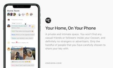 Afbeeldingsresultaat voor Cocoon app