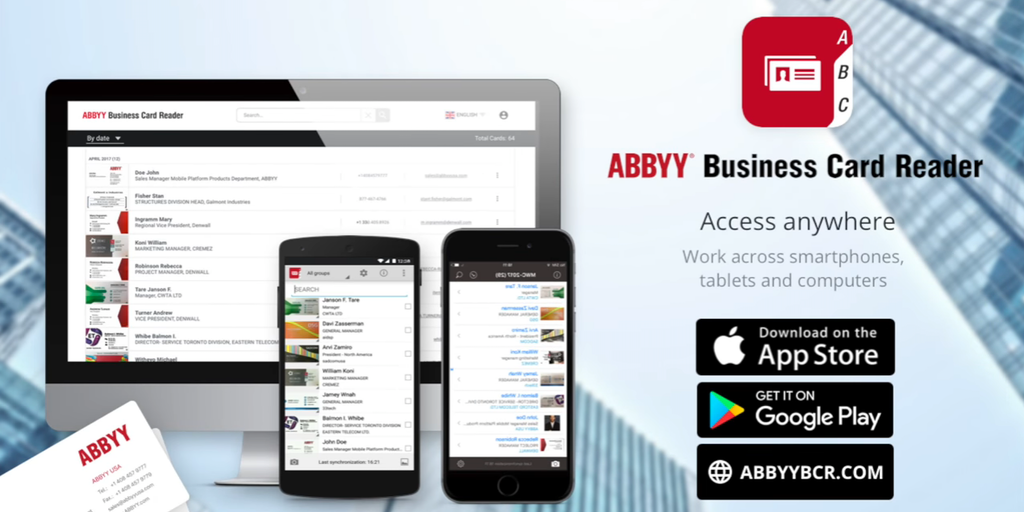 ABBYY Business Card Reader - Product Hunt
