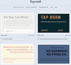 Typewolf - What's trending in type | Product Hunt