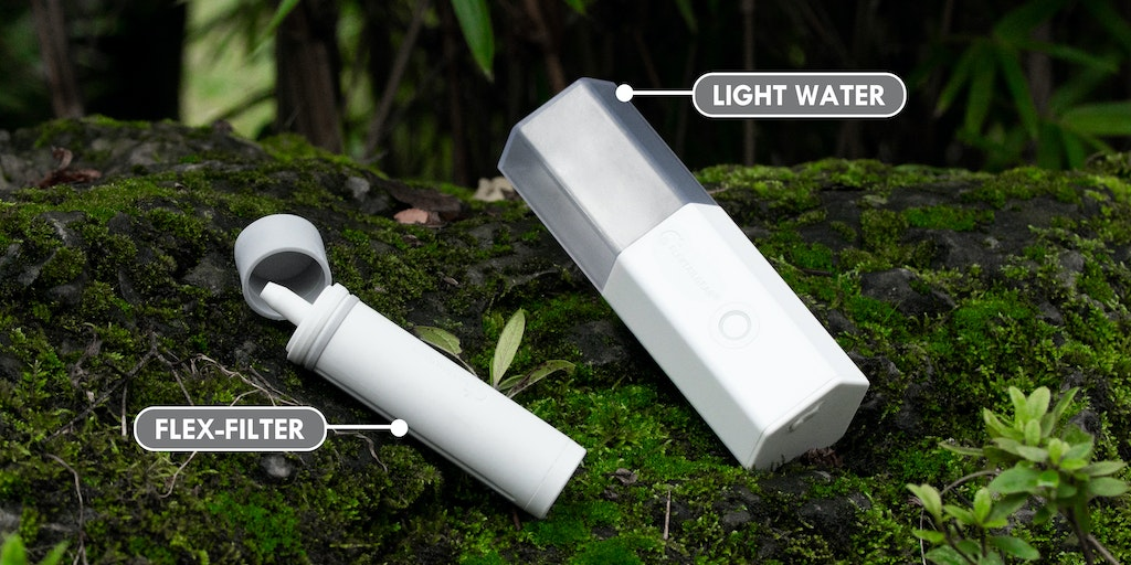 Light Water - The best portable water purifier system for the outdoors   Product Hunt