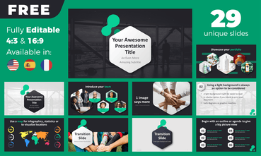 Showeet - Impress your audience with creative & free PPT