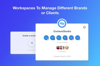 ContentStudio 2 0 - The command center for your content and