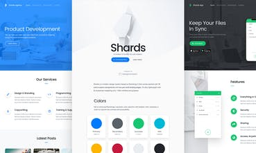 Shards UI Kit - A free and modern UI kit based on Bootstrap