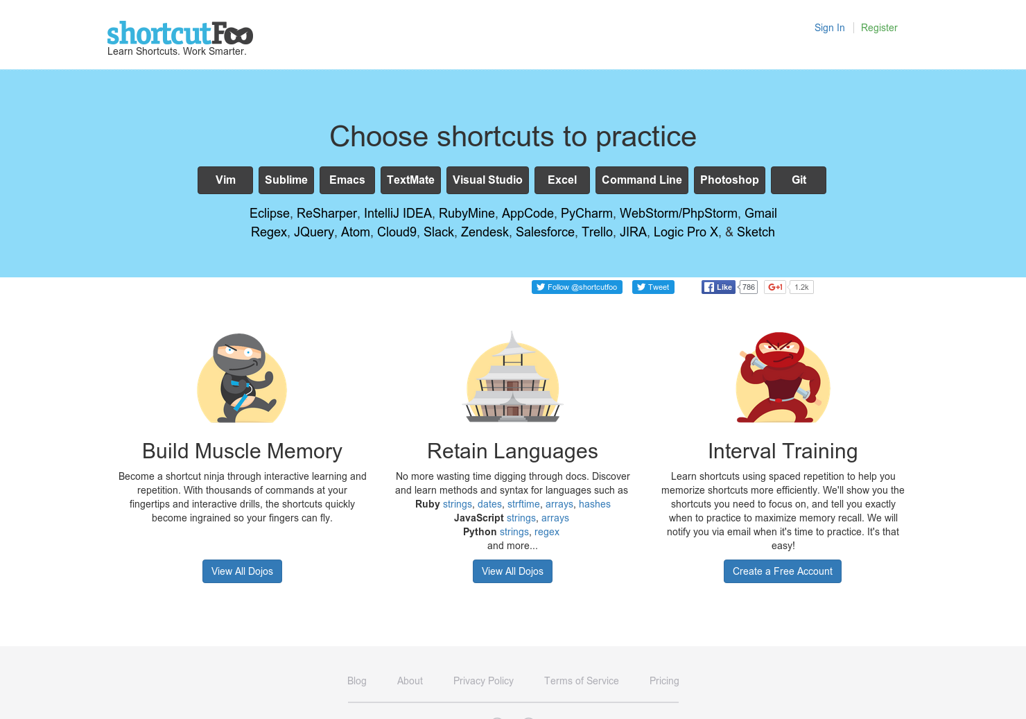 Shortcut Foo - Learn shortcuts Work faster | Product Hunt