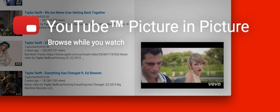 YouTube Picture in Picture - Bring Youtube's mini player