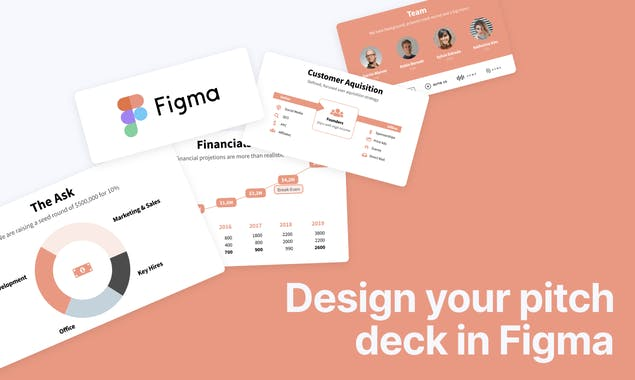 Figma Pitch Deck Template Gallery Image 3